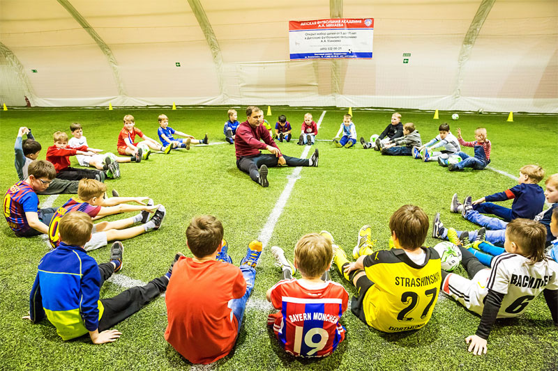Футбольная школа бавария